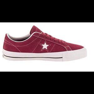 Converse Unisex One Star Pro Ox Skate Shoe Rubarb